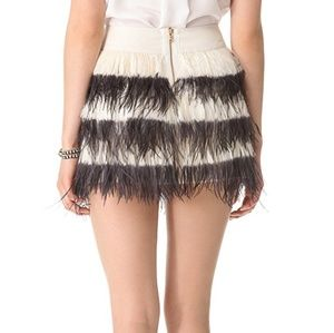 Cute Monaco Bridget Feather Skirt